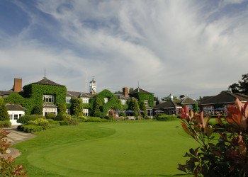The Belfry Exterior and Putting Green